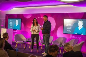 Retail Media Summit: Anja Lange und Torsten Ahlers